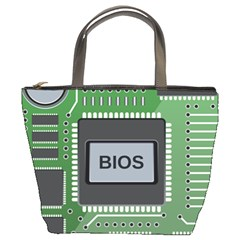 Computer Bios Board Bucket Bags