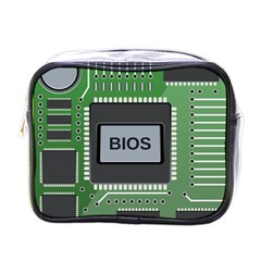 Computer Bios Board Mini Toiletries Bags