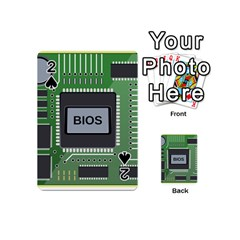 Computer Bios Board Playing Cards 54 (mini)