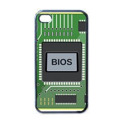 Computer Bios Board Apple Iphone 4 Case (black)
