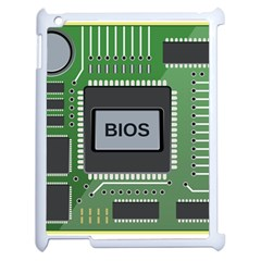 Computer Bios Board Apple Ipad 2 Case (white) by BangZart