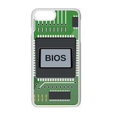 Computer Bios Board Apple Iphone 7 Plus White Seamless Case