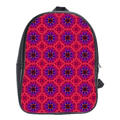 Retro Abstract Boho Unique School Bags(large)  by BangZart