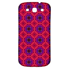 Retro Abstract Boho Unique Samsung Galaxy S3 S Iii Classic Hardshell Back Case by BangZart