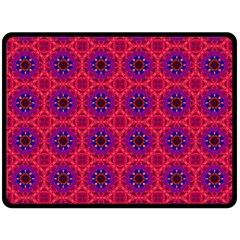 Retro Abstract Boho Unique Double Sided Fleece Blanket (large)  by BangZart