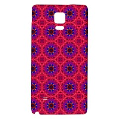 Retro Abstract Boho Unique Galaxy Note 4 Back Case by BangZart