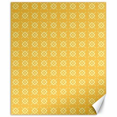 Yellow Pattern Background Texture Canvas 20  X 24