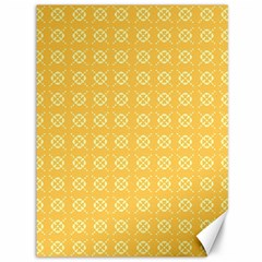 Yellow Pattern Background Texture Canvas 36  X 48