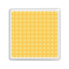 Yellow Pattern Background Texture Memory Card Reader (square)  by BangZart