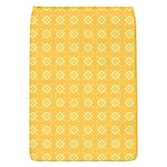 Yellow Pattern Background Texture Flap Covers (s)  by BangZart