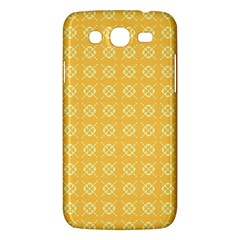 Yellow Pattern Background Texture Samsung Galaxy Mega 5 8 I9152 Hardshell Case  by BangZart