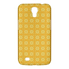Yellow Pattern Background Texture Samsung Galaxy Mega 6 3  I9200 Hardshell Case
