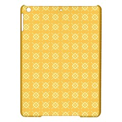 Yellow Pattern Background Texture Ipad Air Hardshell Cases