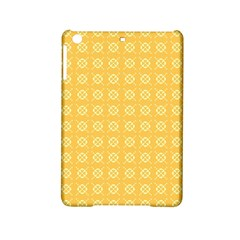 Yellow Pattern Background Texture Ipad Mini 2 Hardshell Cases by BangZart