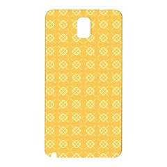 Yellow Pattern Background Texture Samsung Galaxy Note 3 N9005 Hardshell Back Case