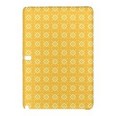 Yellow Pattern Background Texture Samsung Galaxy Tab Pro 12 2 Hardshell Case by BangZart