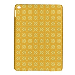 Yellow Pattern Background Texture Ipad Air 2 Hardshell Cases