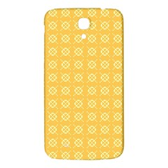Yellow Pattern Background Texture Samsung Galaxy Mega I9200 Hardshell Back Case