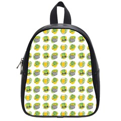 St Patrick S Day Background Symbols School Bags (small)  by BangZart