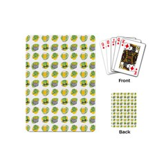 St Patrick S Day Background Symbols Playing Cards (mini)
