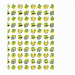 St Patrick S Day Background Symbols Large Garden Flag (two Sides) by BangZart