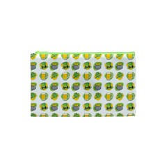 St Patrick S Day Background Symbols Cosmetic Bag (xs) by BangZart