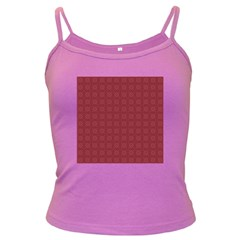 Purple Pattern Background Texture Dark Spaghetti Tank