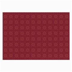 Purple Pattern Background Texture Large Glasses Cloth