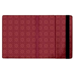 Purple Pattern Background Texture Apple Ipad 2 Flip Case by BangZart