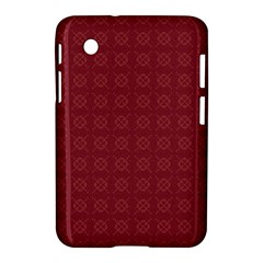 Purple Pattern Background Texture Samsung Galaxy Tab 2 (7 ) P3100 Hardshell Case
