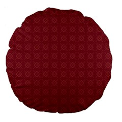 Purple Pattern Background Texture Large 18  Premium Flano Round Cushions