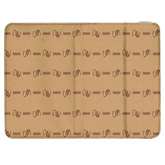 Brown Pattern Background Texture Samsung Galaxy Tab 7  P1000 Flip Case by BangZart