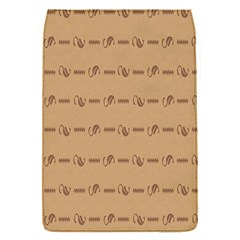 Brown Pattern Background Texture Flap Covers (s)