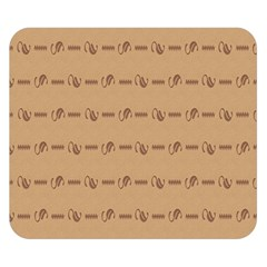 Brown Pattern Background Texture Double Sided Flano Blanket (small)