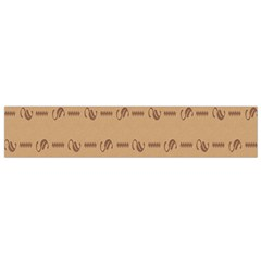 Brown Pattern Background Texture Flano Scarf (small) by BangZart