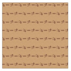 Brown Pattern Background Texture Large Satin Scarf (square) by BangZart