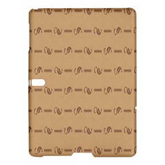 Brown Pattern Background Texture Samsung Galaxy Tab S (10 5 ) Hardshell Case  by BangZart