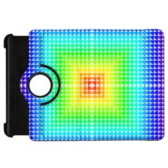 Square Rainbow Pattern Box Kindle Fire Hd 7  by BangZart