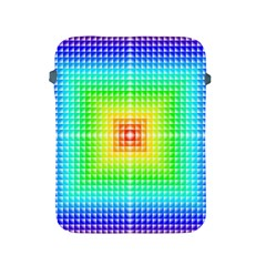 Square Rainbow Pattern Box Apple Ipad 2/3/4 Protective Soft Cases by BangZart