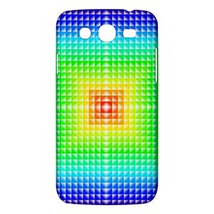 Square Rainbow Pattern Box Samsung Galaxy Mega 5 8 I9152 Hardshell Case