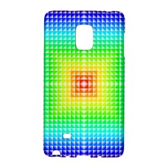 Square Rainbow Pattern Box Galaxy Note Edge