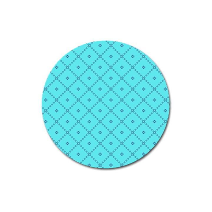 Pattern Background Texture Magnet 3  (Round)