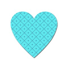 Pattern Background Texture Heart Magnet by BangZart