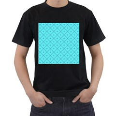 Pattern Background Texture Men s T Shirt (black) (two Sided)