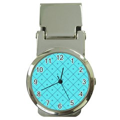 Pattern Background Texture Money Clip Watches by BangZart