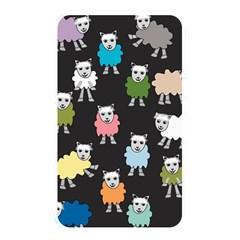 Sheep Cartoon Colorful Black Pink Memory Card Reader