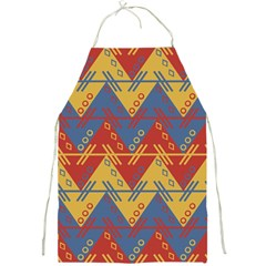 Aztec South American Pattern Zig Full Print Aprons by BangZart