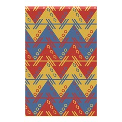 Aztec South American Pattern Zig Shower Curtain 48  X 72  (small)  by BangZart