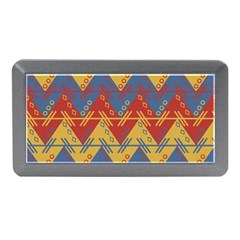 Aztec South American Pattern Zig Memory Card Reader (mini)