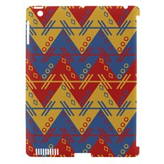 Aztec South American Pattern Zig Apple Ipad 3/4 Hardshell Case (compatible With Smart Cover) by BangZart